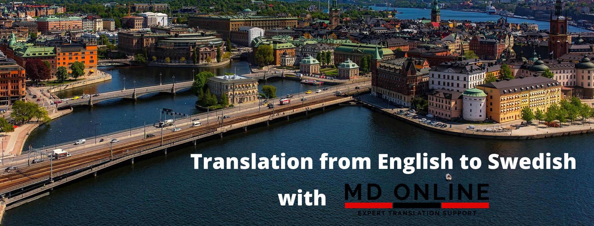 translation from English to Swedish